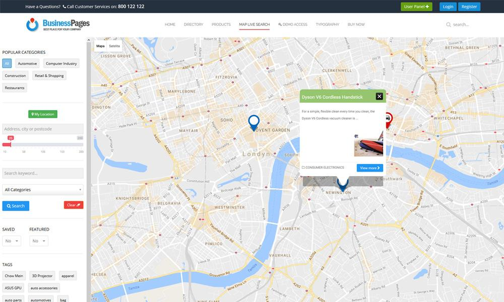 jomdirectory map search