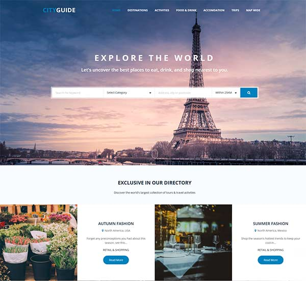 jomdirectory city guide template